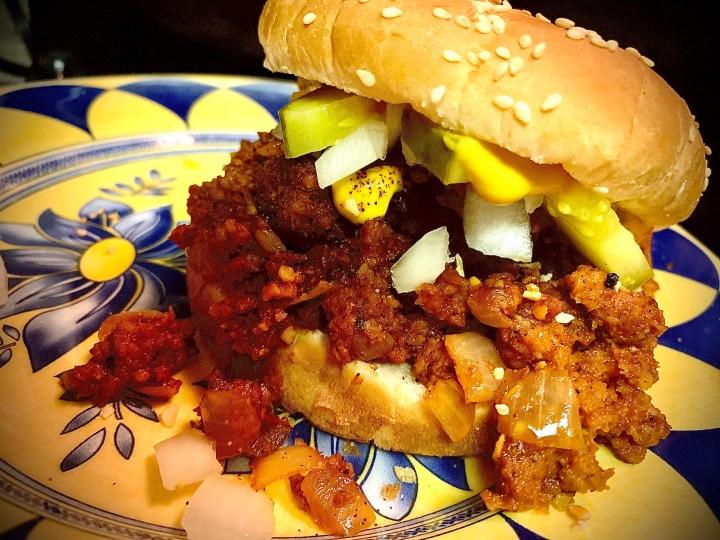 Perfect Vegan L.A. Fast Food Replica ChiliBurger
