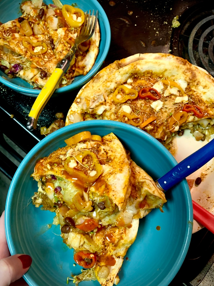 Southwest American-Style Vegan EnchiladaPie
